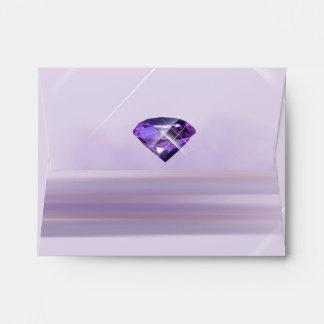 Gema púrpura, violeta inmóvil sobres