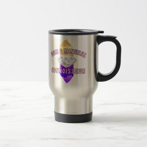 Gema y perito mineral taza de café