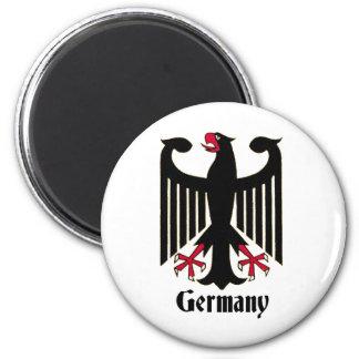 Geman Eagle 2 Inch Round Magnet