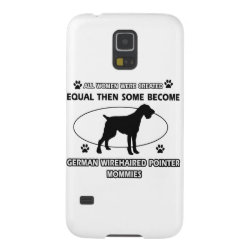 Geman wirehaired pointer dog designs galaxy s5 case