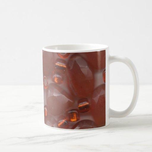 Gemas anaranjadas tazas