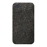 Gemas negras pintadas iPhone 4 carcasas
