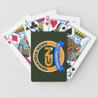Gematria News Bicycle Playing Cards