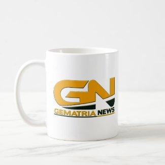 Gematria News Coffee Cup