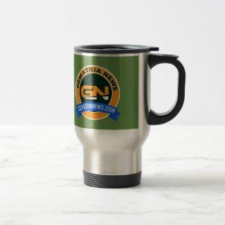Gematria News Travel/Commuter Mug