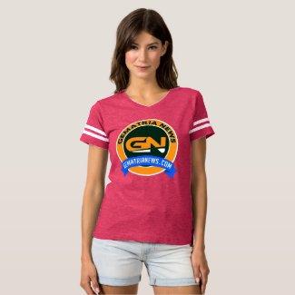 Gematria News Women's Football T-Shirt