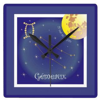 Gémeaux 21 May outer 21 juin clock