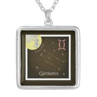 Gémeaux 21 May outer 21 juin necklace