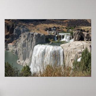 Gemelo, caídas, Idaho Póster
