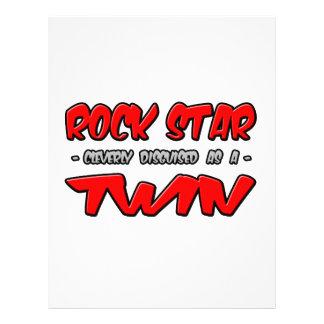 Gemelo de la estrella del rock… tarjetón