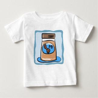 Gemelo de la mantequilla de cacahuete/camiseta del playera
