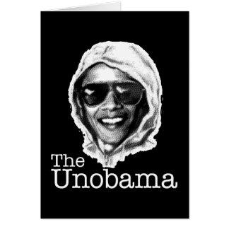 Gemelo del mal de UnObama - de Obama Unabomber Tarjeta