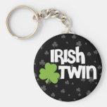 Gemelo irlandés llaveros personalizados