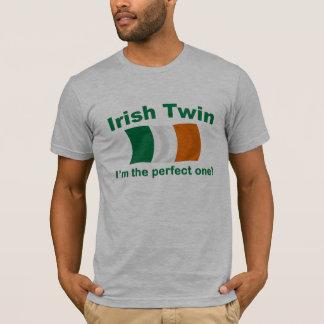 Gemelo irlandés perfecto playera