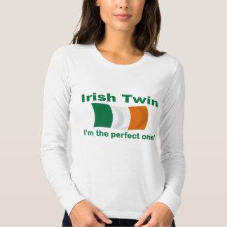 Gemelo irlandés perfecto polera