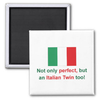 Gemelo italiano perfecto iman para frigorífico