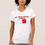 Gemelo maltés #1 camisetas