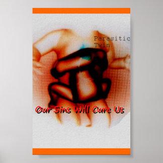 Gemelo parásito (poster) póster