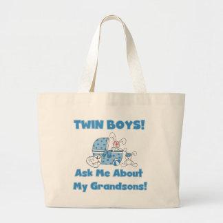 Gemelo-Pida acerca de mis camisetas y regalos de l Bolsas
