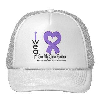 Gemelo violeta Brothe de la ayuda del corazón del  Gorros