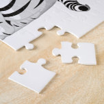 Gemelos blancos del tigre puzzles con fotos