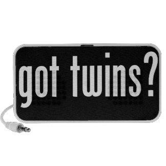 ¿gemelos conseguidos notebook altavoz