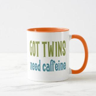 GEMELOS CONSEGUIDOS cafeína de la necesidad