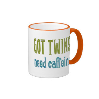 GEMELOS CONSEGUIDOS cafeína de la necesidad Taza De Café