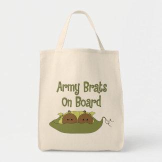 Gemelos de los palos de golf del ejército a bordo bolsa tela para la compra