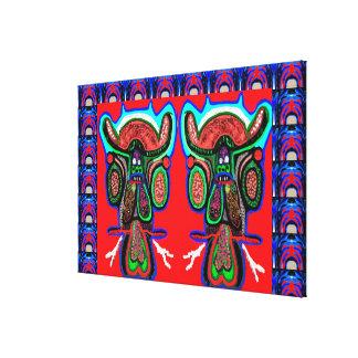 Gemelos de TAPORI - altos TOROS enérgicos de Don Lienzo Envuelto Para Galerías