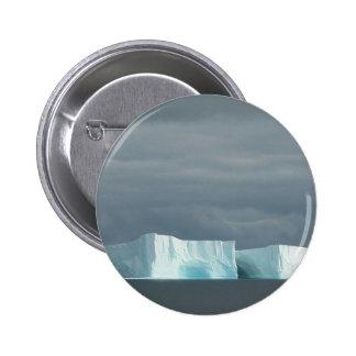 Gemelos del glaciar del océano de la naturaleza pins