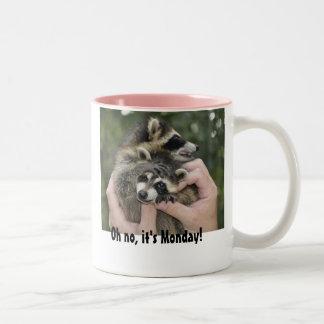 Gemelos del mapache - taza