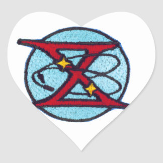 Gemini 10 Young and Collins Heart Sticker
