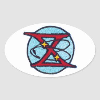 Gemini 10 Young and Collins Oval Sticker