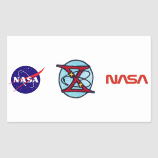 Gemini 10 Young and Collins Rectangular Sticker