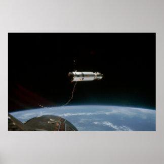 Gemini 11 & Agena Target Vehicle Poster