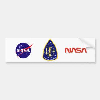 Gemini 11 Conrad and Gordon Car Bumper Sticker