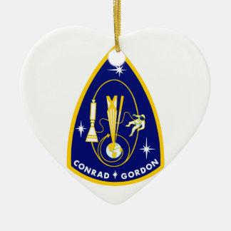 Gemini 11 Conrad and Gordon Ornaments