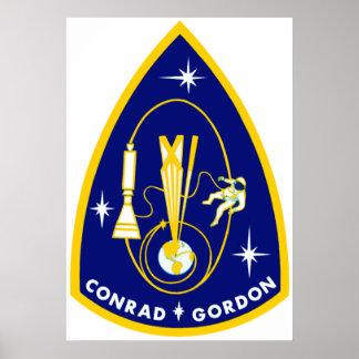 Gemini 11 Conrad and Gordon Poster
