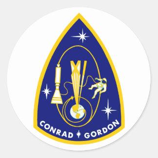 Gemini 11 Conrad and Gordon Stickers