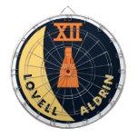 Gemini 12 Lovell and Aldrin Dartboard With Darts