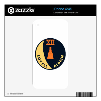 Gemini 12 Lovell and Aldrin Decals For The iPhone 4S