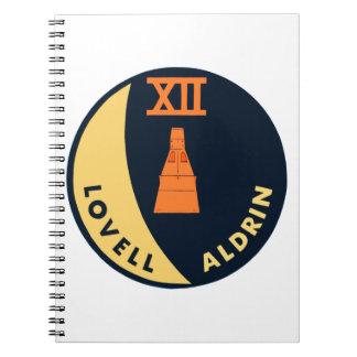 Gemini 12 Lovell and Aldrin Notebook