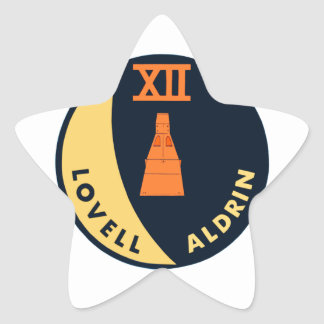 Gemini 12 Lovell and Aldrin Star Stickers