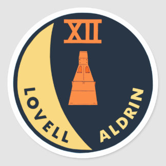Gemini 12 Lovell and Aldrin Sticker