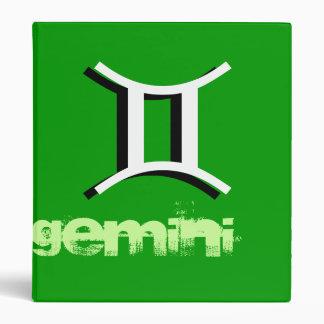Gemini 3 Ring Binder