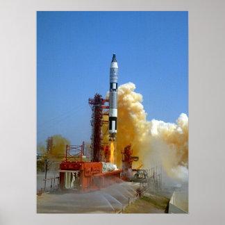 Gemini 4 Launch Poster