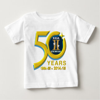 Gemini 50th Anniversary Logo Baby T-Shirt