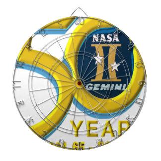 Gemini 50th Anniversary Logo Dartboards