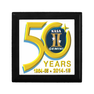 Gemini 50th Anniversary Logo Trinket Boxes
